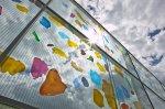 ´Emailmalerei auf Floatglas` Thierry Boissel, Glaskünstler